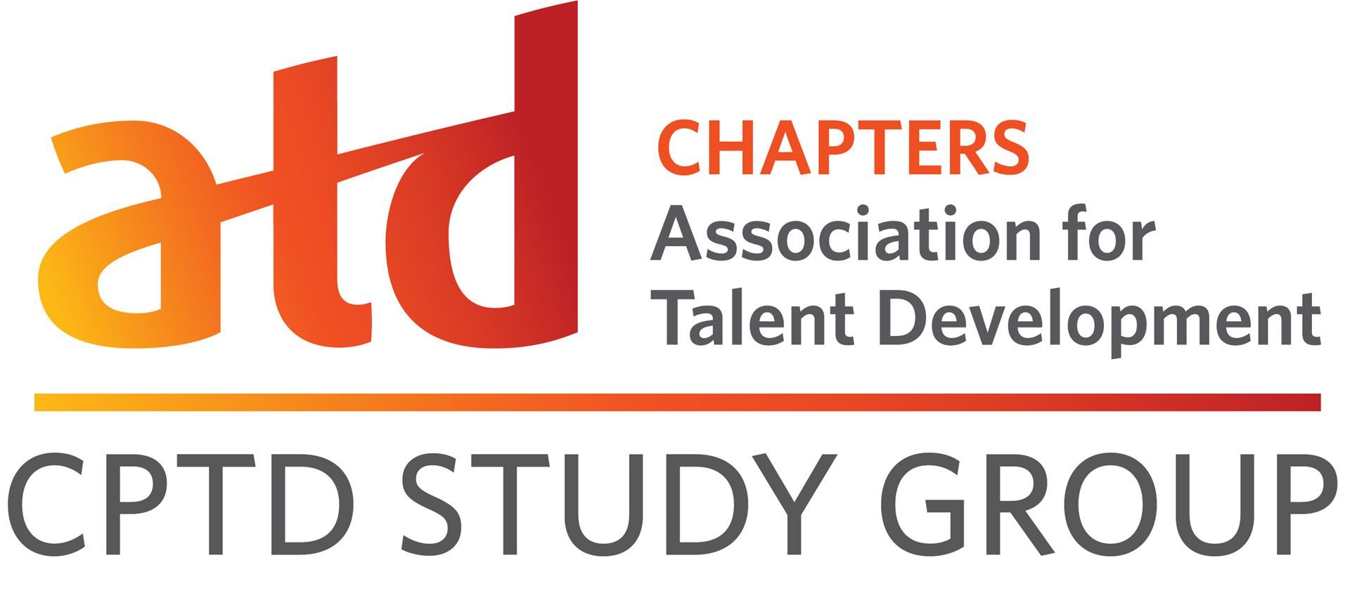 Logo - ATD Chapters Association for Talent Development CPTD Study Group