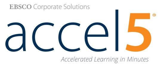 Image with text ECSCO Corporate Solutions accel 5 Accelerated learning in minutes.