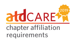 2019 ATD Care Chapter Affiliation Requirements