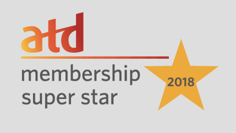 2018 ATD Membership Superstar Award